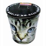 As vendas directamente de fábrica metal balde de gelo da cintagem por completo na caixa de estanho