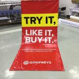 광고를 위해 인쇄하는 옥외 주문 풀 컬러 디지털 비닐 기치