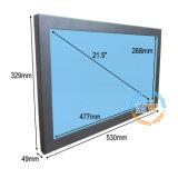 Pantalla LCD táctil de 21,5 pulgadas Monitor con entrada VGA DVI HDMI USB (MW-211MBT)