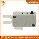 Interruptor micro plástico del micr3ofono de los contactos del interruptor T85 5e5 3 del actuador gris de Lema Kw7-0u