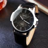 Z332普及した最小の表面腕時計のステンレス鋼の背部水晶腕時計