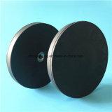 Резиновый Coated магнит бака работая основание установки камеры светлого приспособления магнитное с отверстием винта