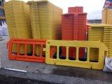 Barrera plástica de la cerca del camino de la naranja el 1X2m