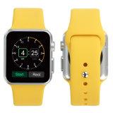 Qualitäts-Silikon-Gummi-Uhrenarmband-Brücke für Apple-Uhr