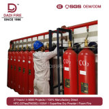 Incêndio do competidor da fábrica - extinguindo o sistema de supressão automático do incêndio 70L do CO2