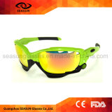 Небольшие квадратные мужчин УФ400 защитные велосипедного движения спортивных мероприятий на улице солнечные очки