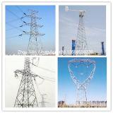Torre galvanizada alta calidad de la distribución de potencia