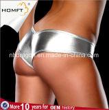 Correa con estilo de las muchachas de la ropa interior de las bragas de T-Back de patente de las mujeres de sellado calientes atractivas del cuero