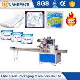 Machine d'emballage de débit pour une serviette en tissu lingettes humides