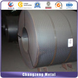 Tôle d'acier Checkered d'acier doux (CZ-S20)
