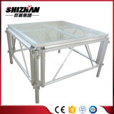 Plegable de aluminio Cristal Toughend escenario de exposición/Car Show/Concierto