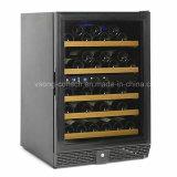 Охладитель вина компрессора умеренной цены с вполне сползать деревянные полки