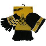 Bufanda de Fútbol de 2018 Venta caliente, ventiladores, bufanda, guantes y bufanda caliente&Gorro, bufanda de acrílico, juego de fútbol