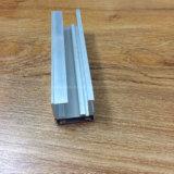 Quadrada, Circular diferentes perfis de extrusão em ligas de alumínio para tubo de Porta e Janela 201