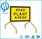 Предупредительные знаки дорожной работы высокой видимости алюминиевые, квадратное промышленное предупреждающий Signags все стандарты