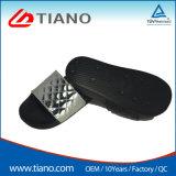 Mens de PVC negro Sandalia de diapositivas zapatilla