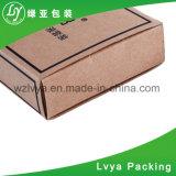 Rectángulo de encargo del café del papel acanalado para empaquetar