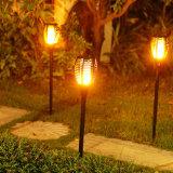 Flackerndes Solar-LED-Fackel-Flamme-Licht für Landschaftsgarten-Rasen