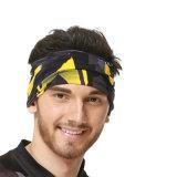 適性の魔法のヘッドバンドの多機能のヘッドスカーフは吸収する汗(YH-HS376)を