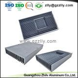 Dissipatore di calore di alluminio industriale dell'espulsione dell'automobile & della macchina del materiale da costruzione del metallo