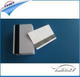 Cartão de PVC com tarjas magnéticas de tamanho padrão 85,5*54mm