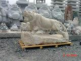 Il granito scolpisce la statua animale di scultura di pietra del granito per l'hotel della casa del giardino