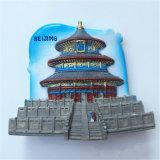 Beijing Chine Lieux touristiques Cadeau souvenir Polyresin Fridge Magnet 3D