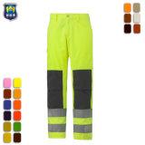 Men's durable de haute visibilité Pantalon de travail d'électricien