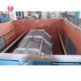 Bolso inútil de la película del PE de los PP del plástico que machaca el secado que se lava reciclando la máquina