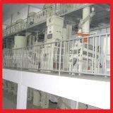 100 T/Dayの自動結合された米製造所機械