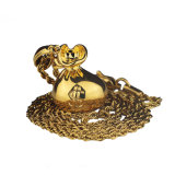 Pendant neuf de sac d'argent d'or de Hip Hop de modèle pour les hommes Mjhp132