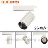 LED de alta CRI antirreflectante de mazorca de la luz de la pista con la caja Die-Casting