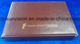 """10.1 """" A4 Hardcover PU Brochure Commerciale Mailer Carte vidéo"""