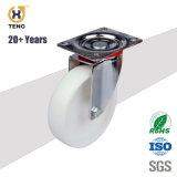 Het duurzame Wiel van het Karretje van de Hand van de Gietmachine PU&Nylon