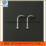 Parafuso Piercing da narina do corpo Titanium Piercing do corpo da jóia do corpo (NSCR001)