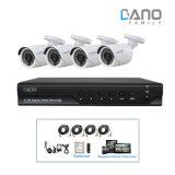 4CH 1080n CCTV-System analoger Ahd DVR Digital Videogerät-Installationssatz