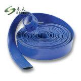 Blauer Wasser-Bewässerung-Schlauch Belüftung-Layflat für landwirtschaftliches
