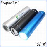 côté de pouvoir de cylindre d'éclairage de 2500mAh DEL (XH-PB-004L)