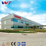 China-Lieferant Lang-Überspannung Stahlkonstruktion-Rahmen-Gebäude
