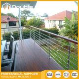 Pasamano/barandilla del acero inoxidable para el balcón o la escalera