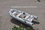 Barco pequeno da fibra de vidro do barco do reforço do barco da No mar-Pesca de Liya
