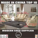 贅沢で標準的な白黒デザイン革ソファーのソファ