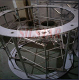 De HDPE de alta velocidade, máquina de sopro de filme plástico de LDPE