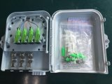 안쪽으로 접합기와 떠꺼머리를 가진 FTTH 8 포트 Fo 종료 상자