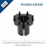 Base OCULTADA socket del coche para nueva Mazda 6 3 5 Cx-7 pequeño Opel H7