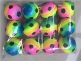 Rainbow et le nombre de jouets de football de mousse de PU Squeeze Ball Balle de stress