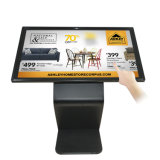 Fußboden-freier Stellung LCD-Screen-Tankstelle-DigitalSignage, der Bildschirmanzeige bekanntmacht
