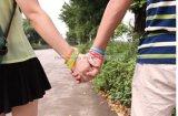 Braccialetti del Silkscreen dei braccialetti del silicone per la promozione