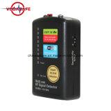 Señal de la cámara espía oculta detector RF Full-Range All-Round contra el espionaje de la señal de CCTV GPS inalámbrico GSM Detector multiusos lente IP
