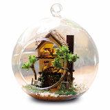 Bricolaje Cuteroom casa de muñecas en miniatura de regalo bola de cristal B-001